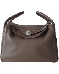 Hermès - Pre-owned Lindy Leather Handbag - Lyst