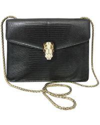 BVLGARI - Pre-owned Serpenti Lizard Handbag - Lyst