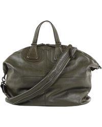 Givenchy - Khaki Leather Bag - Lyst