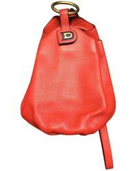 Delvaux - Vintage Red Leather Handbag - Lyst