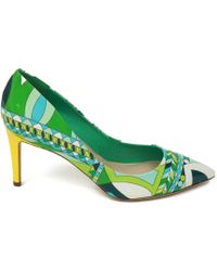 Emilio Pucci - Pre-owned Yellow Patent Leather Heels - Lyst