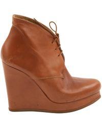 Jil Sander - Leather Boots - Lyst
