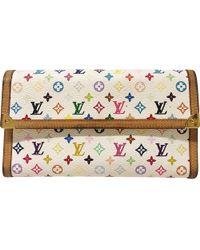 Louis Vuitton - Multicolour Leather Wallets - Lyst