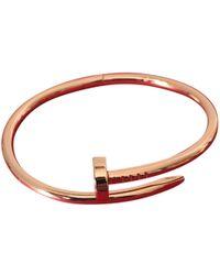 Cartier - Juste Un Clou Pink Gold Bracelet - Lyst