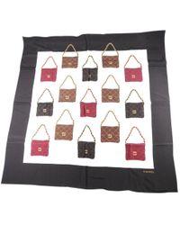 Chanel - Silk Handkerchief - Lyst
