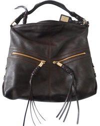 Lancel - Pre-owned Leather Handbag - Lyst