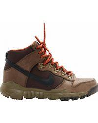 cb687355781 Lyst - Nike Woodside Chukka Ii Snow Boots in Black