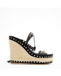 Philipp Plein - Leather Sandals - Lyst