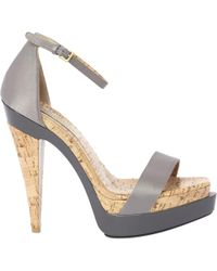 Stella McCartney - Pre-owned Canvas Sandals - Lyst