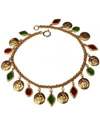 Chanel - Pre-owned Necklace - Lyst