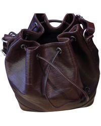 Louis Vuitton - Pre-owned Noé Leather Handbag - Lyst