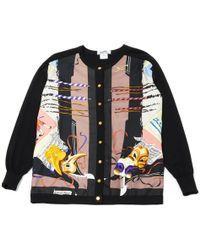Hermès - Pre-owned Vintage Black Wool Knitwear - Lyst