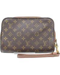 Louis Vuitton - Brown Cloth - Lyst