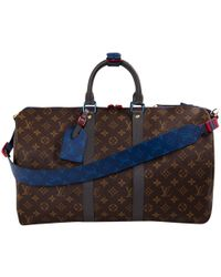 Louis Vuitton - Keepall Multicolour Cloth Bag - Lyst