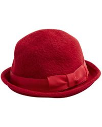 Marc Jacobs - Pre-owned Red Wool Hats - Lyst