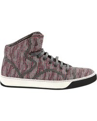 Pre-owned - Cloth high trainers Lanvin n4bdNJ9Ub