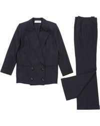 Dior - Pre-owned Vintage Navy Other Jacket - Lyst