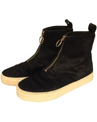 Céline - Pre-owned Pony-style Calfskin Trainers - Lyst