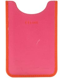 Céline - Pink Leather Purses, Wallets & Cases - Lyst