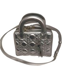 Dior - Pre-owned Leather Crossbody Bag - Lyst