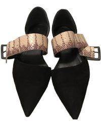 Jil Sander - Pre-owned Leather Ballet Flats - Lyst