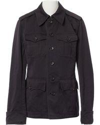 Louis Vuitton - Pre-owned Vintage Black Cotton Jackets - Lyst