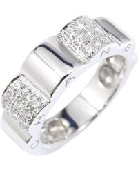 Chanel - White Gold Ring - Lyst