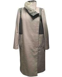 Helmut Lang - Pre-owned Wool Coat - Lyst