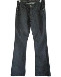 Faith Connexion - Blue Cotton Jeans - Lyst