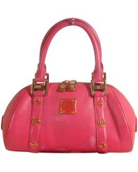 MCM - Leather Tote - Lyst