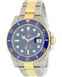 Rolex - Submariner Silver Gold And Steel Watches - Lyst