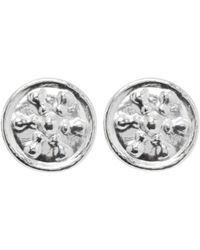 Lanvin - Pre-owned Silver Metal Earrings - Lyst