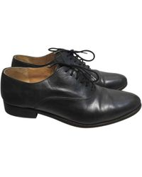 Maison Margiela - Pre-owned Leather Lace Ups - Lyst