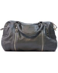 Zadig & Voltaire - Pre-owned Sunny Leather Bowling Bag - Lyst