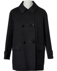 Louis Vuitton - Pre-owned Wool Coat - Lyst