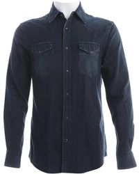 Acne Studios - Navy Cotton T-shirts - Lyst