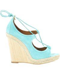 Aquazzura - Other Suede Sandals - Lyst