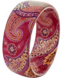 Etro - Pre-owned Pink Plastic Bracelet - Lyst