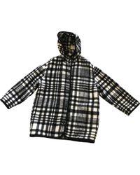 Stella McCartney - Black Wool Coat - Lyst