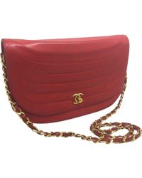 92ad7efd2842 Lyst - Chanel Pre-owned Timeless Leather Clutch Bag