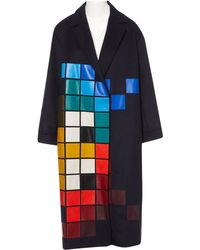 Anya Hindmarch - Wool Coat - Lyst