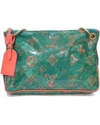 Louis Vuitton - Green Plastic Handbag - Lyst