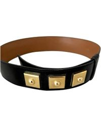 Hermès - Pre-owned Leather Belt - Lyst