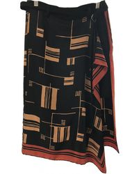 Dries Van Noten - Pre-owned Black Silk Shorts - Lyst