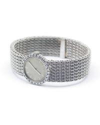 Boucheron Silver White Gold Watches - Metallic