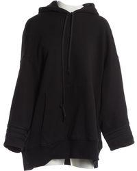 Vera Wang - Pre-owned Black Cotton Knitwear - Lyst