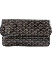 Goyard - Pre-owned Brown Cloth Clutch Bags - Lyst