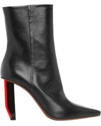 Vetements - Black Leather Boots - Lyst
