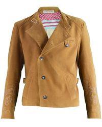 Christian Lacroix - Camel Cotton Jacket - Lyst