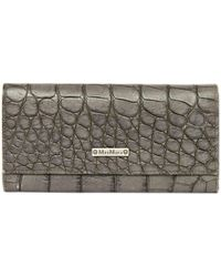 Max Mara - Pre-owned Leather Wallet - Lyst